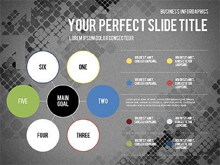 Elegant Business Presentation Template in Flat Design, Slide 14, 02831, Presentation Templates — PoweredTemplate.com