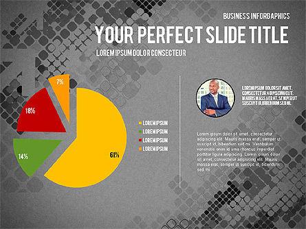 Elegant Business Presentation Template in Flat Design, Slide 16, 02831, Presentation Templates — PoweredTemplate.com