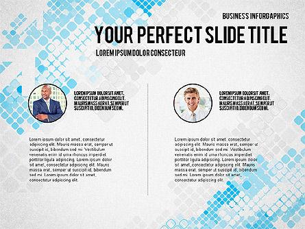 Elegant Business Presentation Template in Flat Design, Slide 5, 02831, Presentation Templates — PoweredTemplate.com