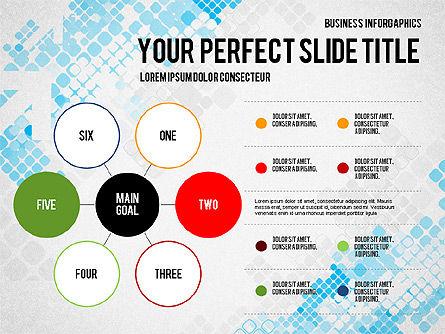 Elegant Business Presentation Template in Flat Design, Slide 6, 02831, Presentation Templates — PoweredTemplate.com