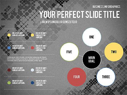Elegant Business Presentation Template in Flat Design, Slide 9, 02831, Presentation Templates — PoweredTemplate.com