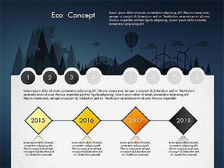 Eco Presentation Template Concept with Data Driven Charts, Slide 11, 02832, Presentation Templates — PoweredTemplate.com