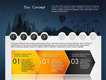 Eco Presentation Template Concept with Data Driven Charts, Slide 12, 02832, Presentation Templates — PoweredTemplate.com
