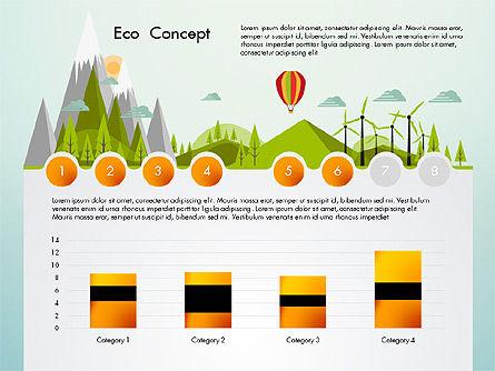 Eco Presentation Template Concept with Data Driven Charts, Slide 6, 02832, Presentation Templates — PoweredTemplate.com