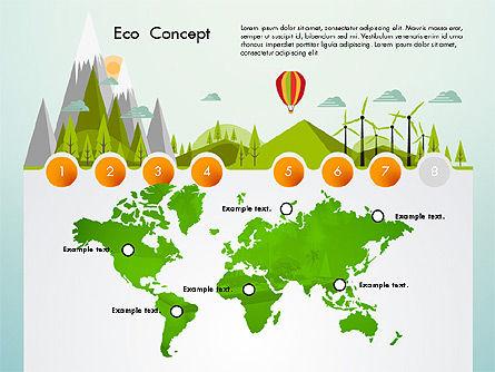 Eco Presentation Template Concept with Data Driven Charts, Slide 7, 02832, Presentation Templates — PoweredTemplate.com