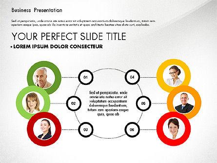 Team Relations Presentation Template, 02833, Organizational Charts — PoweredTemplate.com