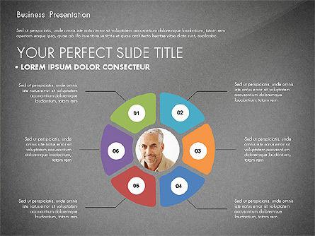 Team Relations Presentation Template, Slide 10, 02833, Organizational Charts — PoweredTemplate.com