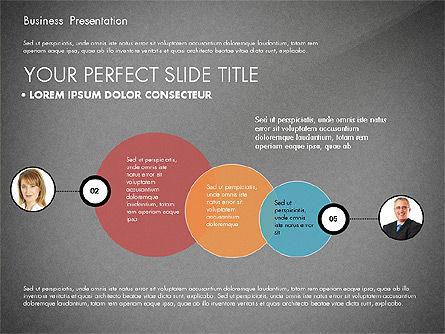 Team Relations Presentation Template, Slide 16, 02833, Organizational Charts — PoweredTemplate.com