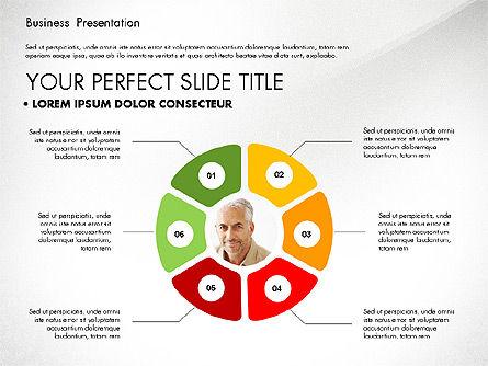 Team Relations Presentation Template, Slide 2, 02833, Organizational Charts — PoweredTemplate.com