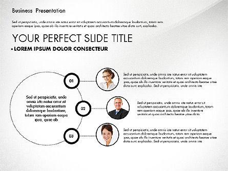 Team Relations Presentation Template, Slide 3, 02833, Organizational Charts — PoweredTemplate.com