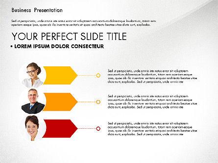 Team Relations Presentation Template, Slide 4, 02833, Organizational Charts — PoweredTemplate.com