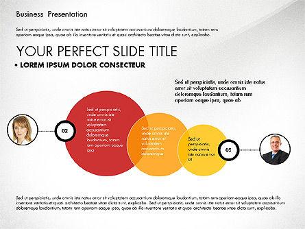 Team Relations Presentation Template, Slide 8, 02833, Organizational Charts — PoweredTemplate.com
