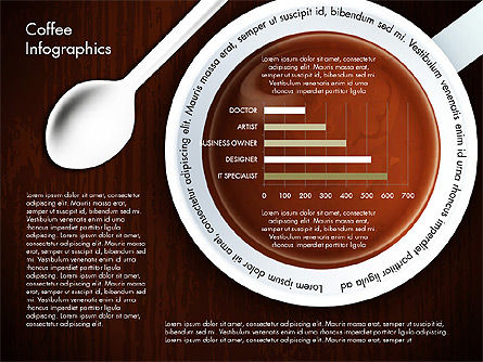 Coffee Consumption Infographics, Slide 2, 02834, Infographics — PoweredTemplate.com
