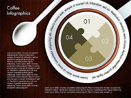 Coffee Consumption Infographics, Slide 3, 02834, Infographics — PoweredTemplate.com
