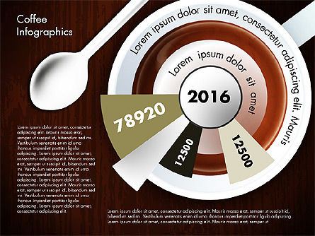 Coffee Consumption Infographics, Slide 5, 02834, Infographics — PoweredTemplate.com