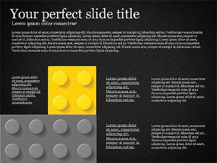 Lego Blocks Presentation Concept, Slide 12, 02836, Presentation Templates — PoweredTemplate.com