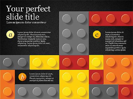 Lego Blocks Presentation Concept, Slide 15, 02836, Presentation Templates — PoweredTemplate.com