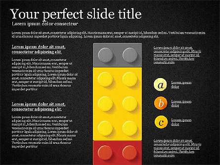 Lego Blocks Presentation Concept, Slide 16, 02836, Presentation Templates — PoweredTemplate.com