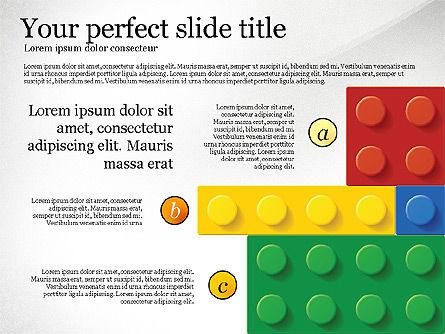 Lego Blocks Presentation Concept, Slide 2, 02836, Presentation Templates — PoweredTemplate.com