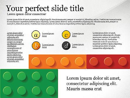 Lego Blocks Presentation Concept, Slide 3, 02836, Presentation Templates — PoweredTemplate.com