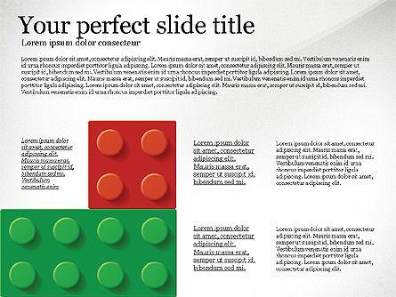 Lego Blocks Presentation Concept, Slide 4, 02836, Presentation Templates — PoweredTemplate.com