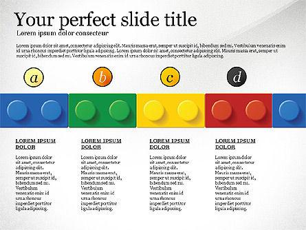 Lego Blocks Presentation Concept, Slide 5, 02836, Presentation Templates — PoweredTemplate.com