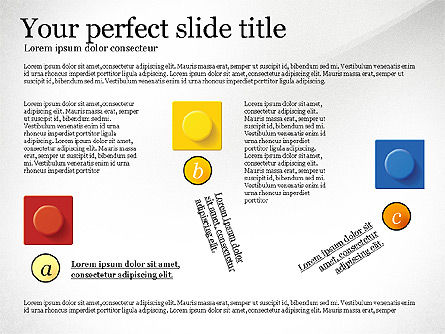Lego Blocks Presentation Concept, Slide 6, 02836, Presentation Templates — PoweredTemplate.com