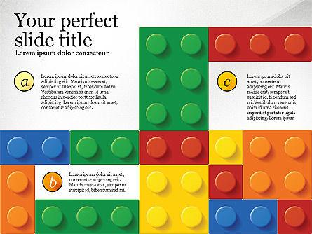 Lego Blocks Presentation Concept, Slide 7, 02836, Presentation Templates — PoweredTemplate.com