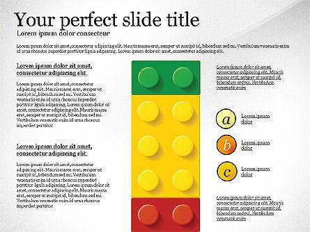 Lego Blocks Presentation Concept, Slide 8, 02836, Presentation Templates — PoweredTemplate.com