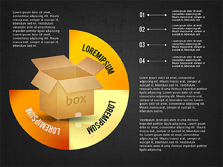 Packaging and Delivering Options Concept, Slide 12, 02837, Process Diagrams — PoweredTemplate.com