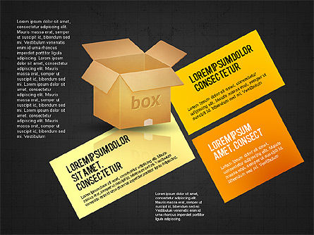 Packaging and Delivering Options Concept, Slide 13, 02837, Process Diagrams — PoweredTemplate.com