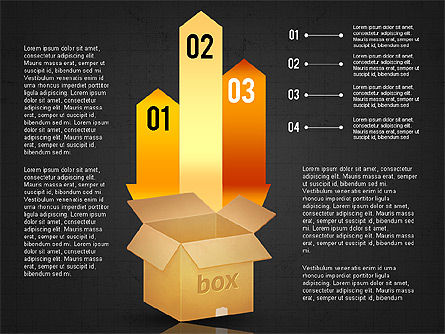 Packaging and Delivering Options Concept, Slide 14, 02837, Process Diagrams — PoweredTemplate.com