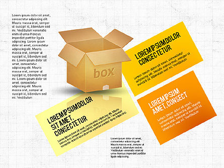 Packaging and Delivering Options Concept, Slide 5, 02837, Process Diagrams — PoweredTemplate.com