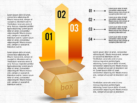 Packaging and Delivering Options Concept, Slide 6, 02837, Process Diagrams — PoweredTemplate.com