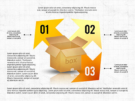 Packaging and Delivering Options Concept, Slide 8, 02837, Process Diagrams — PoweredTemplate.com