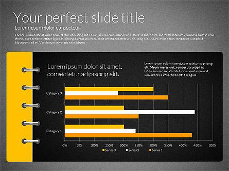 Smart Pitch Deck Presentation Template, Slide 13, 02838, Data Driven Diagrams and Charts — PoweredTemplate.com