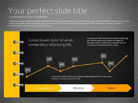 Smart Pitch Deck Presentation Template, Slide 15, 02838, Data Driven Diagrams and Charts — PoweredTemplate.com