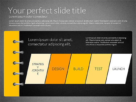 Smart Pitch Deck Presentation Template, Slide 16, 02838, Data Driven Diagrams and Charts — PoweredTemplate.com