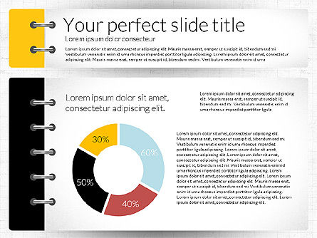 Smart Pitch Deck Presentation Template, Slide 3, 02838, Data Driven Diagrams and Charts — PoweredTemplate.com