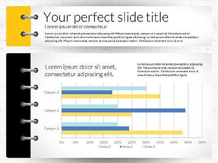 Smart Pitch Deck Presentation Template, Slide 5, 02838, Data Driven Diagrams and Charts — PoweredTemplate.com