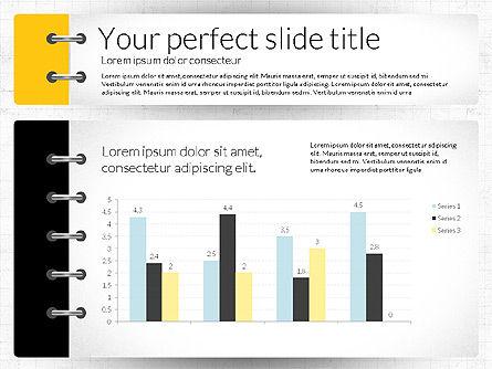 Smart Pitch Deck Presentation Template, Slide 6, 02838, Data Driven Diagrams and Charts — PoweredTemplate.com