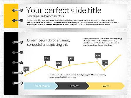Smart Pitch Deck Presentation Template, Slide 7, 02838, Data Driven Diagrams and Charts — PoweredTemplate.com
