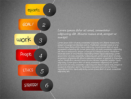 Strategic Planning Presentation Concept, Slide 9, 02839, Presentation Templates — PoweredTemplate.com