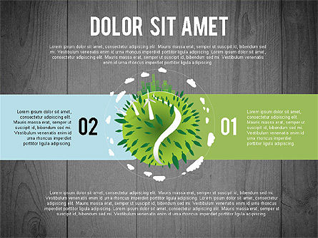 Green Planet Earth Concept, Slide 15, 02841, Stage Diagrams — PoweredTemplate.com