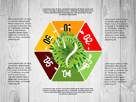 Green Planet Earth Concept, Slide 4, 02841, Stage Diagrams — PoweredTemplate.com