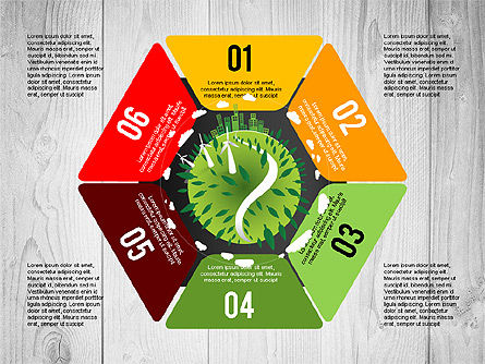 Green Planet Earth Concept, Slide 6, 02841, Stage Diagrams — PoweredTemplate.com