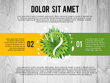 Green Planet Earth Concept, Slide 7, 02841, Stage Diagrams — PoweredTemplate.com