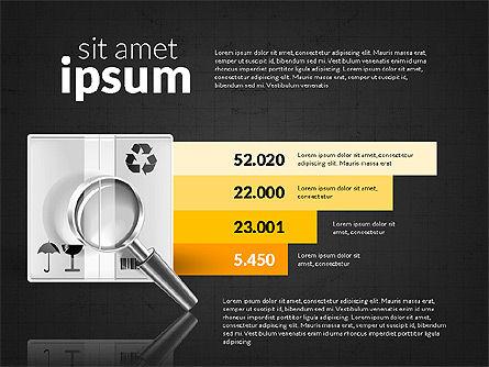 Logistics Infographics, Slide 10, 02842, Infographics — PoweredTemplate.com