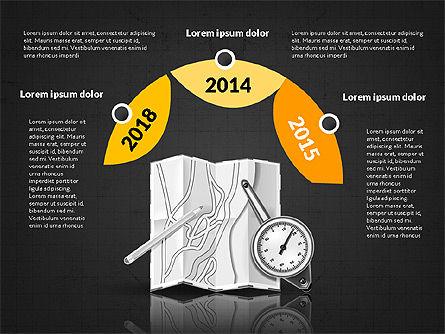 Logistics Infographics, Slide 14, 02842, Infographics — PoweredTemplate.com
