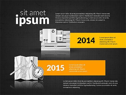 Logistics Infographics, Slide 15, 02842, Infographics — PoweredTemplate.com